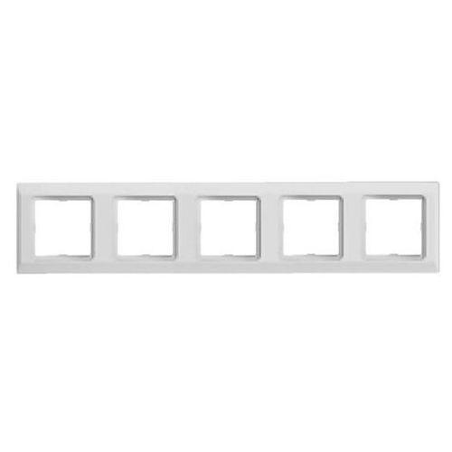Optima Ramka pięciokrotna biała 12012002 HAGER POLO