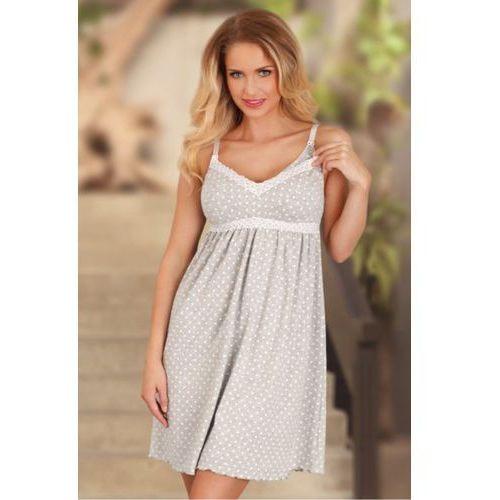 Koszula Nocna Model 1691 Grey, kolor szary