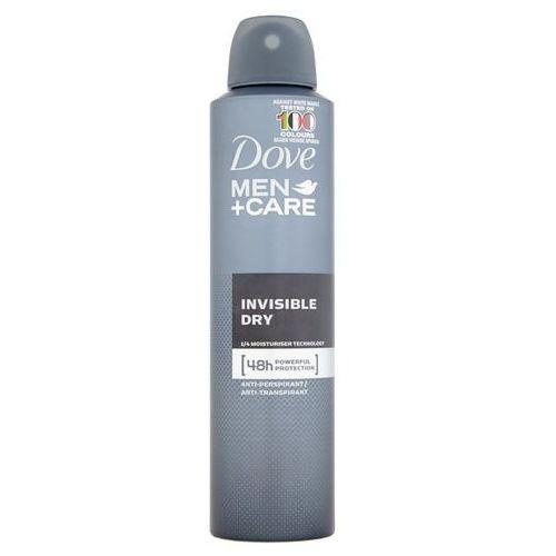 Dove men + care 48h anti-perspirant dezodorant w spray'u invisible dry 250ml (8711600533806)