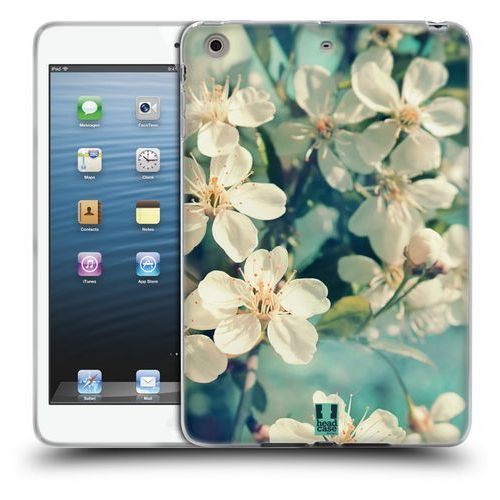 Head case Etui silikonowe na tablet - flowers white spring cherry blossoms