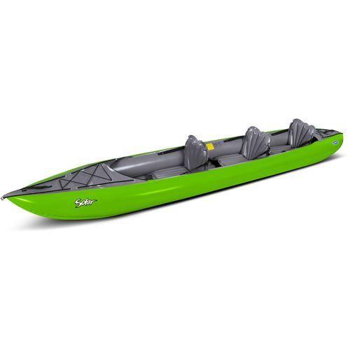 Gumotex solar 3 kajak szary/zielony 2018 kajaki i canoe