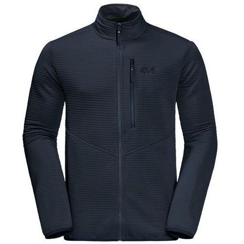 Kurtka polarowa modesto jacket men - night blue, Jack wolfskin