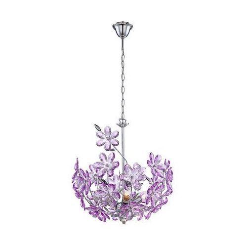 5141 - lampa wisząca purple 3xe14/40w/230v marki Globo