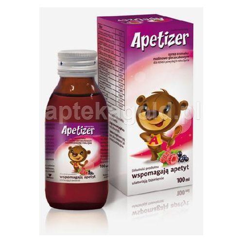 Syrop APETIZER syrop dla dzieci smak malinowo-porzeczkowy 100 ml