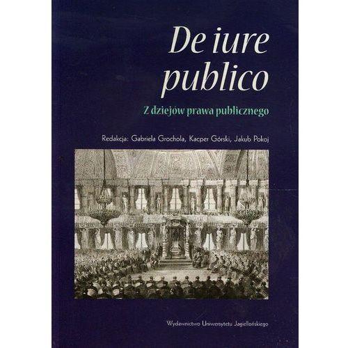 De iure publico Z dziejów prawa publicznego (2014)