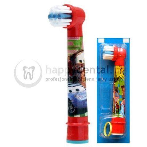 stages power 1szt. eb10-1 - końcówka do szczoteczki elektrycznej dla dzieci - wersja cars/auta marki Braun oral-b