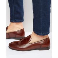 tassel loafers in brown leather - brown marki Red tape