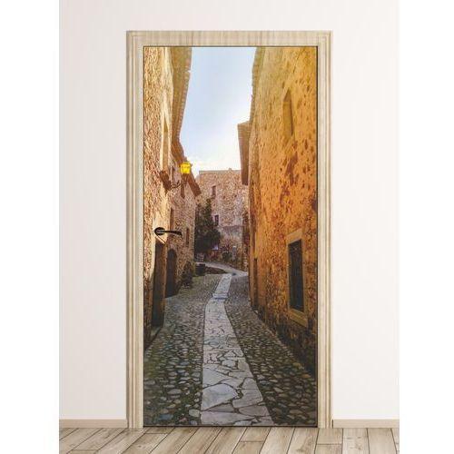 Fototapeta na drzwi uliczka w Hiszpanii FP 6299