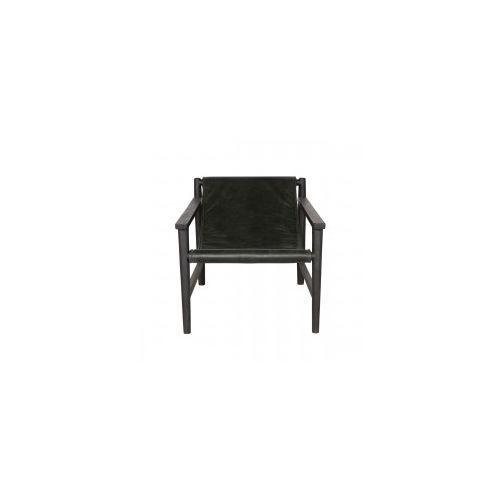 Fotel sling skórzany czarny - marki Be pure