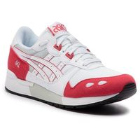 Sneakersy ASICS - TIGER Gel-Lyte 1191A092 White/Rouge 104, kolor czerwony