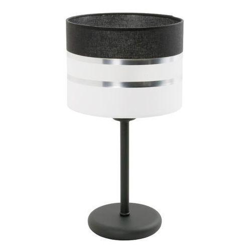 nemia 852/lm lampka stołowa biurkowa 1x40w e27 czarny / biały marki Lampex