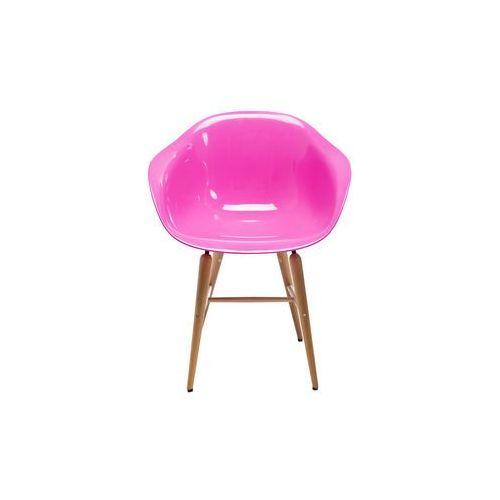 :: krzesło forum wood pink - wood pink ||różowy marki Kare design