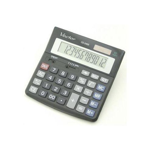 Kalkulator Vector CD-2455 (5904329493794) - Dobra cena!