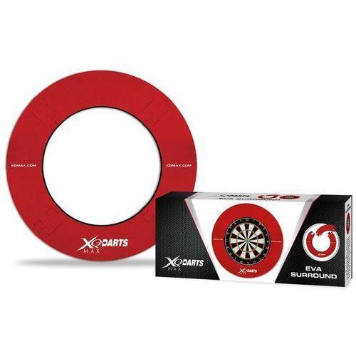 XQmax Darts Brzeg ochronny tarczy do darta EVA, czerwony, QD7300420