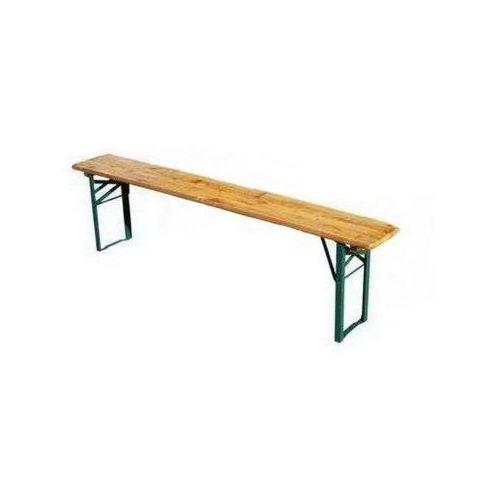 Ławka ogrodowa piwna BS o długości 2,2 metra, YCB/090/BB2