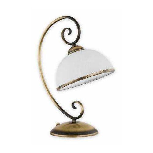 Lemir Indra lampka stołowa 1-punktowa o2498 l1 pat (5902082866893)