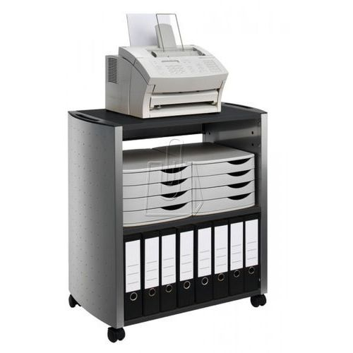 Durable Stolik biurowy design line l 3101-125 srebrny/antracytowy