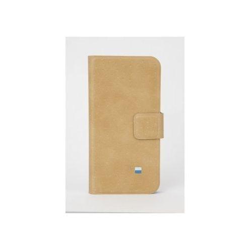 Etui GOLLA iPhone 5/5S Air Slim Folder Beżowy + Zamów z DOSTAWĄ JUTRO!