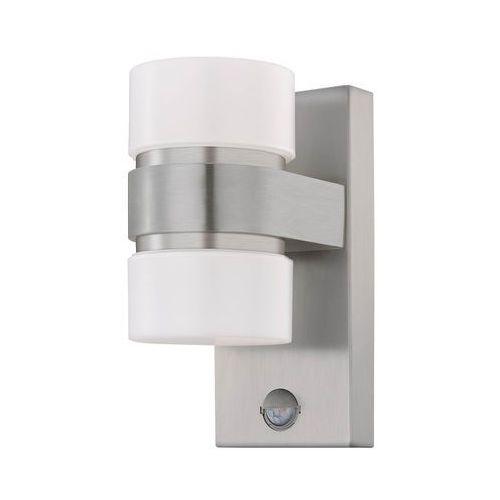 Kinkiet atollari 96277 lampa oprawa ścienna 2x6w led srebrny marki Eglo