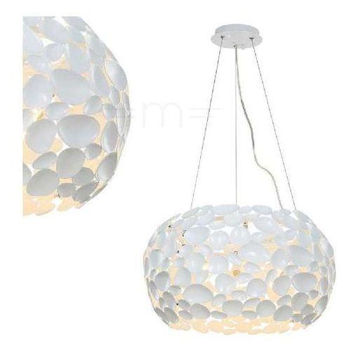 Orlicki design Lampa wisząca carera bianco metalowa oprawa zwis ferrara led 42w 3000k biały (1000000335293)