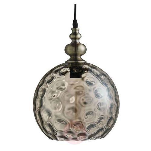 Koniakowa lampa wisząca indiana w antycznym stylu marki Searchlight