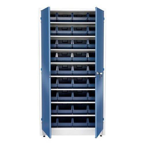 Aj produkty Szafa warsztatowa z pojemnikami, 36 pojemników, 1900x1000x400 mm