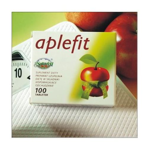 Tabletki Aplefit - Ocet jabłkowy 100 tabl.