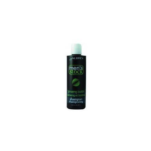 Men's stock krok 1 szampon do włosów z żeń-szeniem i biotyną dla mężczyzn, marki Aubrey