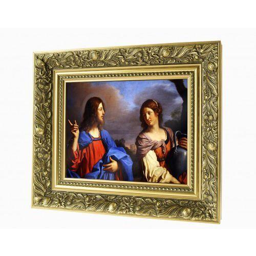 Produkt polski Obraz ceramiczny jezus i samarytanka