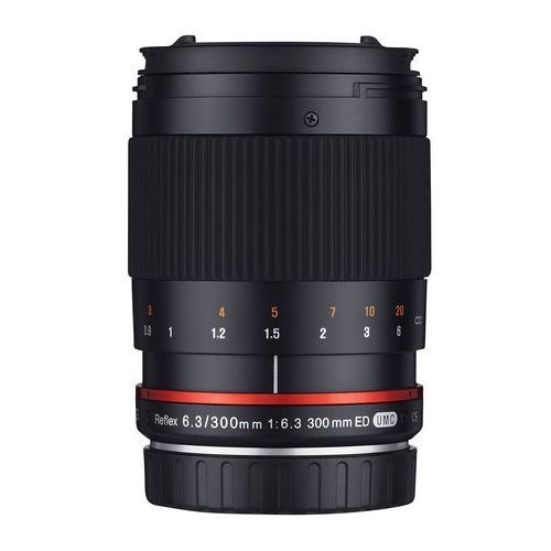 Samyang obiektyw 300mm reflex f/6.3 ed umc cs fuji x czarny (8809298881023)