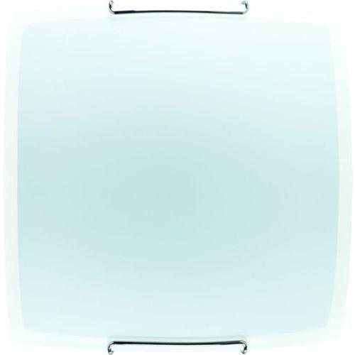 Kinkiet lampa ścienna white 2x30w e27 biały matowy/przezroczysty 90353 marki Alfa
