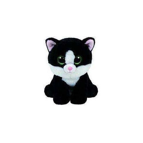 Ty Beanie Babies Ava - kot czarny 15 cm (0008421421855)