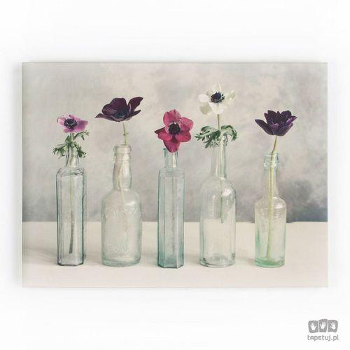 Obraz Kwiaty w szklanych wazonach 40-619, 40-619