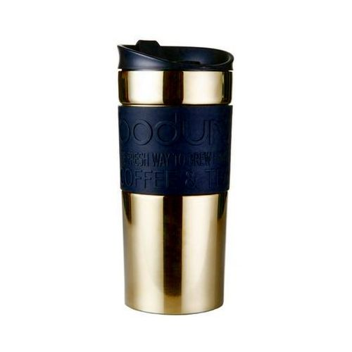 - travel mug kubek termiczny, złoty marki Bodum