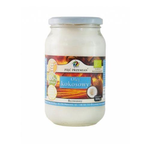 Przecena olej kokosowy bezwonny bio 800 g  marki Pięć przemian