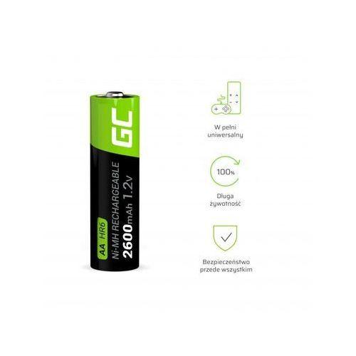 Green Cell Akumulator Green Cell 4x AA HR6 2600mAh, 9_47467