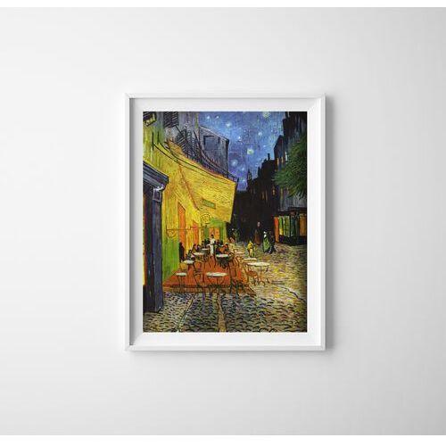 Vintageposteria.pl Plakat na ścianę plakat na ścianę taras kawiarni w nocy vincent van gogh