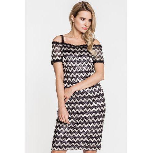 Koronkowa sukienka wieczorowa - Vito Vergelis