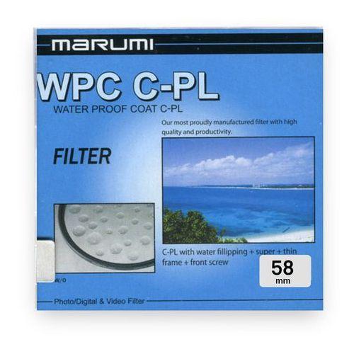 filtr polaryzacyjny kołowy cpl 58 mm wpc marki Marumi