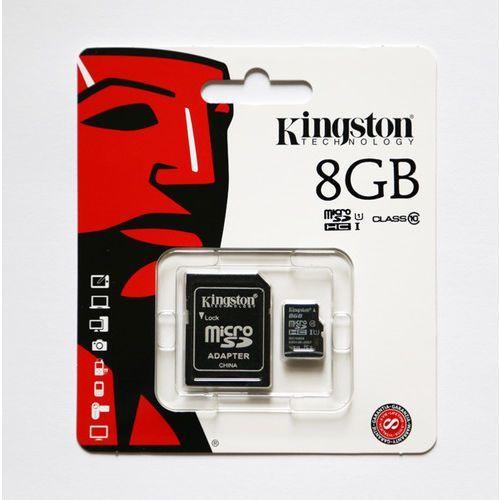 Kingston microSDHC 8GB SDC10/8GB Class 10 UHS-I