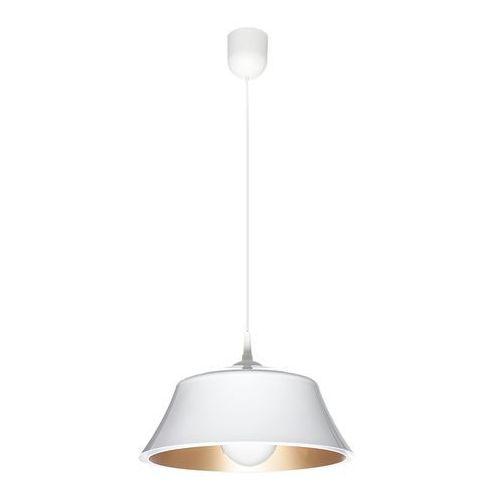 Milo lampa wisząca 1-punktowa 516/F BIA-ZLO, kolor Biały