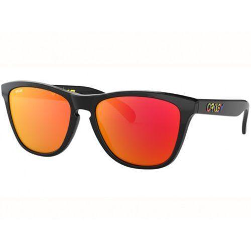 Okulary Oakley Frogskins Valentino Rossi Polished Black Prizm Ruby OO9013-E655