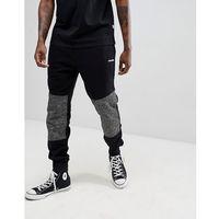 marl panel jogger - black, Converse, XS-XXL