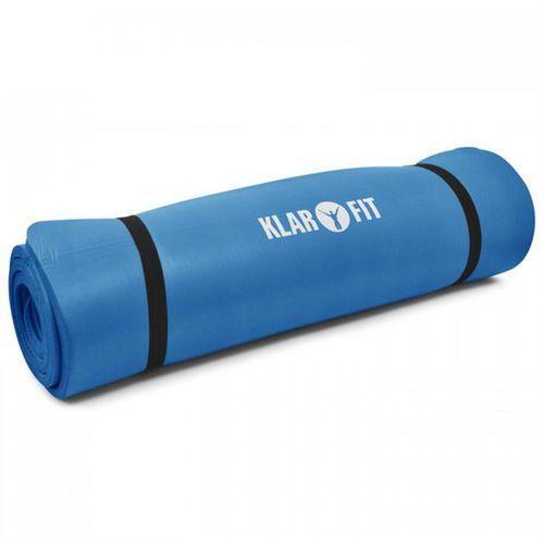 Klarfit Mata do jogi 190x80cm 15mm niebieska