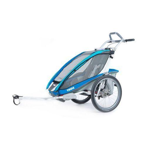 Thule CX 1 + zestaw do rowru Przyczepka rowerowa niebieski Przyczepki rowerowe dla dzieci (0872299038978)
