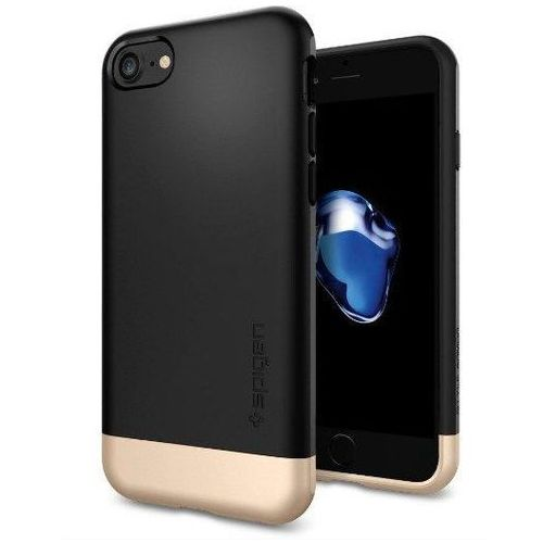 Spigen sgp style armor black | obudowa ochronna dedykowana dla modelu apple iphone 7 - black marki Sgp - spigen