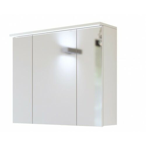 COMAD GALAXY WHITE Szafka lustrzana 3D 80