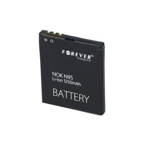 Forever Bateria bateria forever do nokia n95 1250 mah li-ion hq - t0005475 darmowy odbiór w 20 miastach! (5900495184009)