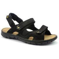 Sandały Lesta 1133 czarny, kolor czarny