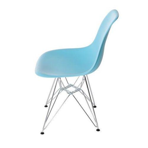 D2.design Krzesło p016 pp inspirowane dsr - ocean blue